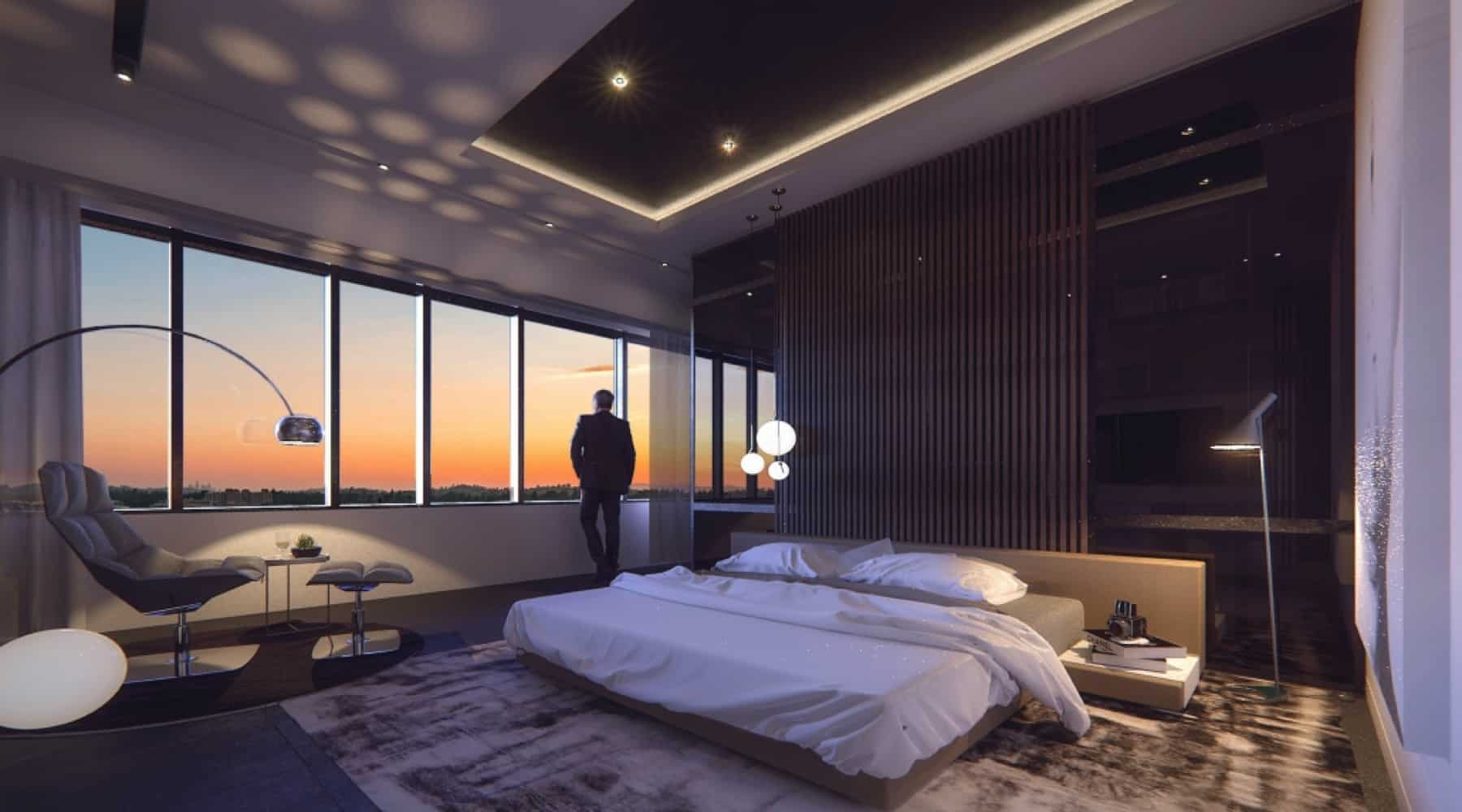 Penthouse_2_Rendering_Bedroom_Evening
